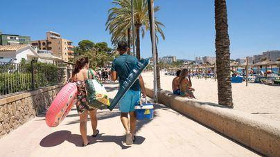 Baleares, en alerta por las altas temperaturas que se alcanzarán hoy