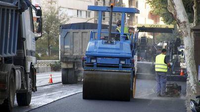 Cort asfaltará cuatro calles de Palma la próxima semana