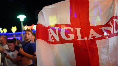Magaluf llora la derrota de Inglaterra ante Italia en la final de la Eurocopa