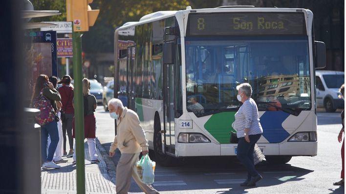 El uso del metro y el autobús aumentó durante mayo en Palma