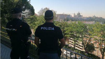 Patrullas policiales conjuntas de España, Francia e Italia atienden a turistas