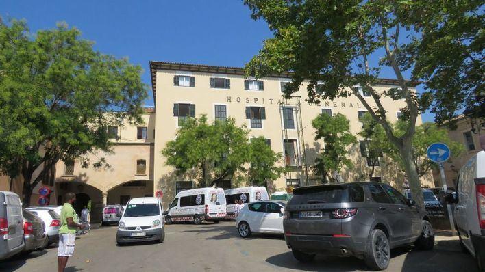 Los pacientes del Hospital General de Palma llevan diez días sin agua caliente