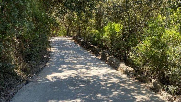 Finalizan las obras de rehabilitación del camí del Puig de Maria en Pollença