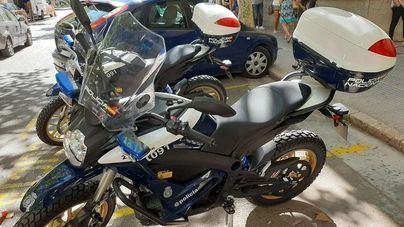 La Policía Nacional incorpora dos motocicletas eléctricas