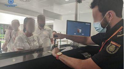 30 detenidos en los controles fronterizos del aeropuerto de Palma