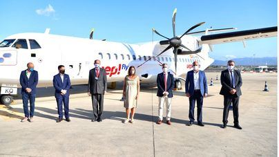 Uep!Fly comienza a operar entre islas con vuelos a 9,50 euros