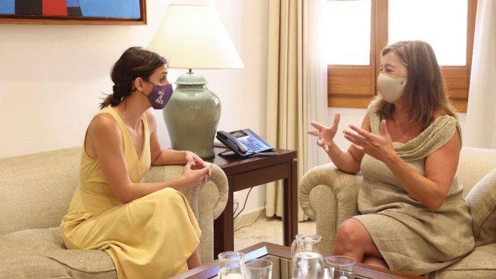Irene Montero visita Mallorca para participar en una reunión sobre seguimiento de la prostitución