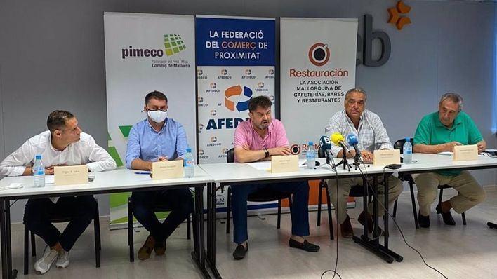 Comerciantes y restauradores del centro presentan alegaciones al plan 'Palma Camina' de Cort