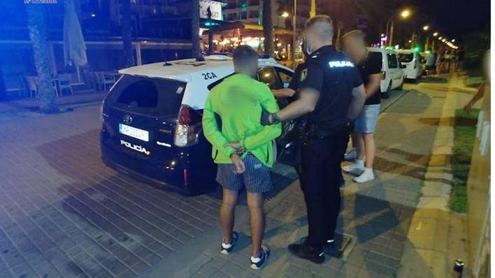 Operación Verano: 11 detenidos por diferentes delitos en Playa de Palma