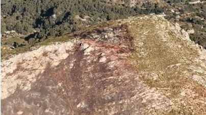 Extinguido el incendio forestal del Coll de Sa Gramola