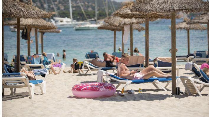 Calor sofocante y altas temperaturas en Mallorca