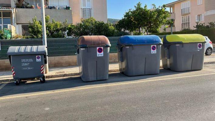 Calvià inicia la instalación de contenedores de residuos orgánicos en el municipio