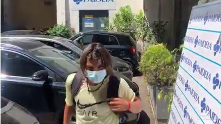 Luka Romero arranca su aventura con la Lazio