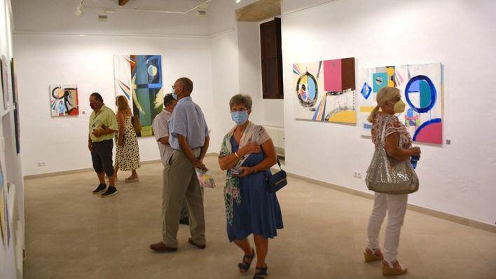 "Exposición ""Trifàsic"" de Llorenç Garrit en Santanyí"