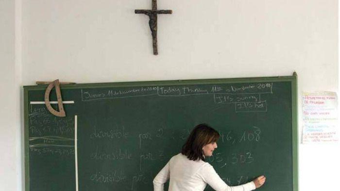 Escola Catòlica tilda de sectaria la idea de quitar la asignatura de Religión