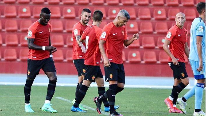 El Mallorca supera al Cartagena con un tanto de Salva Sevilla