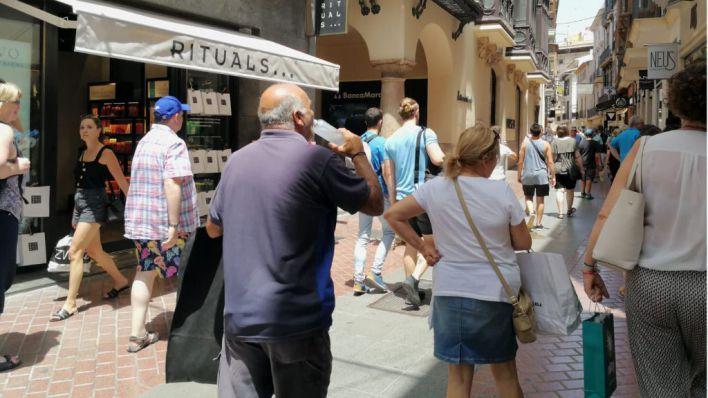 El calor extremo llega a Mallorca