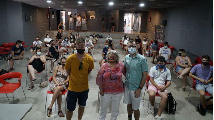 Calvià recibe a un grupo de jóvenes griegos de Erasmus