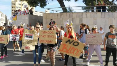Protesta este sábado en Palma por la próxima corrida de toros en Inca