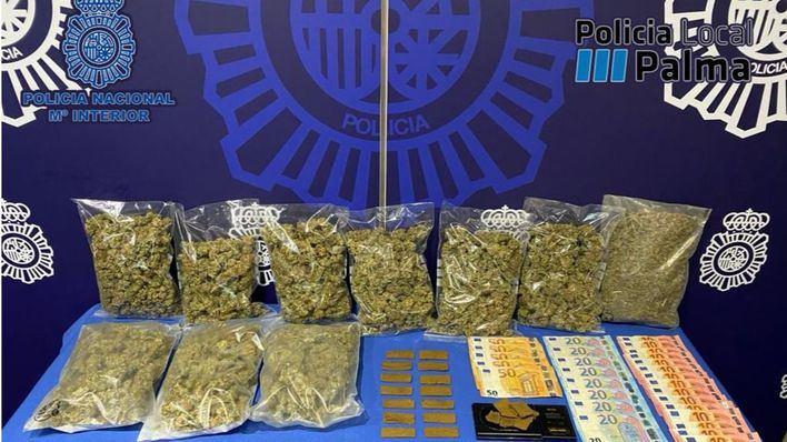 Desmantelado un activo punto de venta de drogas en Foners
