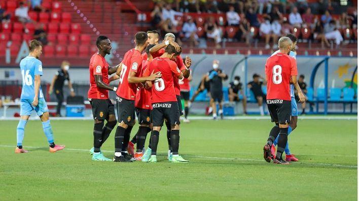 El Mallorca remonta a la UD Ibiza en un histórico derbi balear