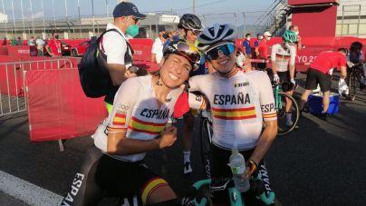 Mavi García, duodécima en la prueba de ciclismo en ruta de Tokio