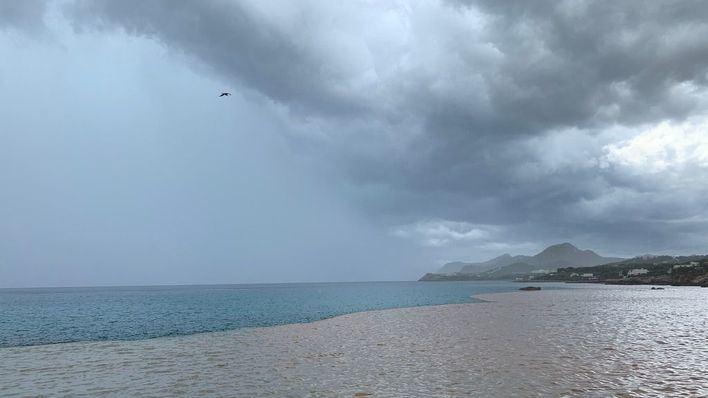 Avisos por lluvias y tormentas en 13 provincias este lunes, entre ellas Baleares