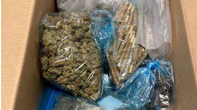 Cuatro detenidos al desmantelar un club cannábico utilizado para vender droga