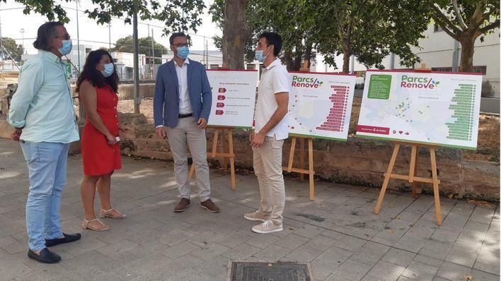 Cort invertirá 4 millones de euros en los parques de los barrios