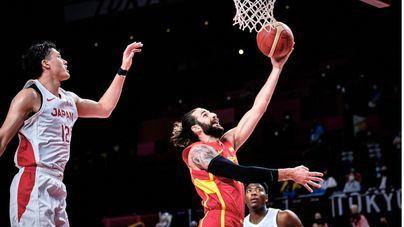 Tokyo 2020: la selección española de baloncesto debuta con una cómoda victoria ante Japón