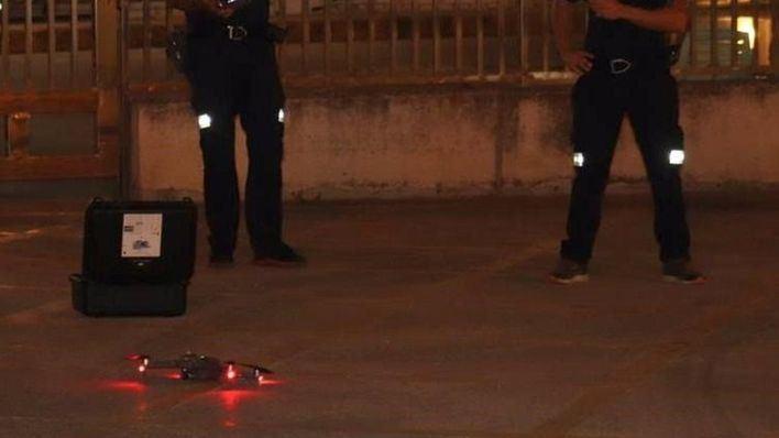 Discrepancias entre el Govern y la Policía Nacional por el uso del dron antibotellón