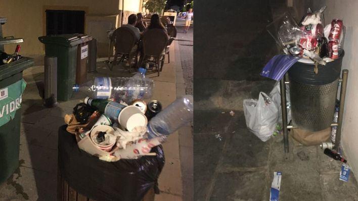 Cs Andratx denuncia la dejadez en la recogida de basuras en Sant Elm y la falta de mantenimiento en las playas del municipio