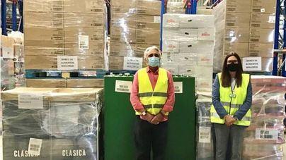 Mercadona dona 20 toneladas de productos de primera necesidad al Banco de Alimentos de Mallorca