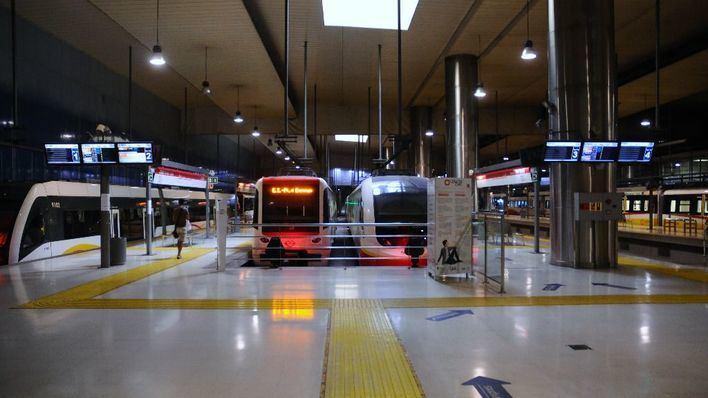 Arrestado un hombre por masturbarse ante un menor en la estación intermodal de Palma