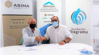 Asima firma un convenio con Fundación Diagrama para ofrecer formación cualificada a personas en dificultad social