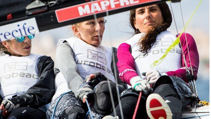 Once equipos femeninos competirán por la 39 Copa del Rey de vela