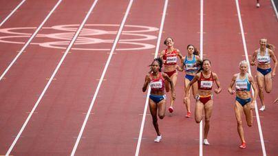 Tokyo 2020: Natalia Romero se clasifica para semifinales de 800 metros con el récord de Baleares