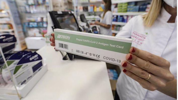 Tres de cada cuatro encuestados descarta usar los test de autodiagnóstico Covid