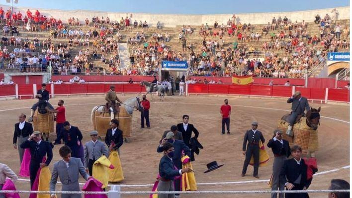 Nueve orejas y un rabo en el regreso de los toros a Baleares
