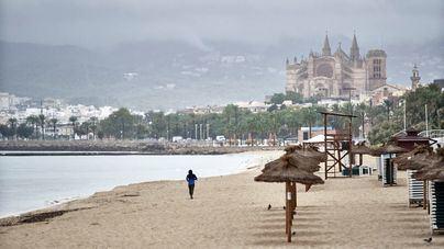 Chubascos y tormentas fuertes este sábado en Baleares