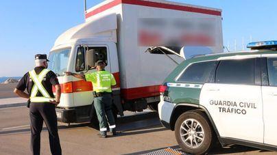 Inspecciones de Transporte por parte de la Guardia Civil y el Govern