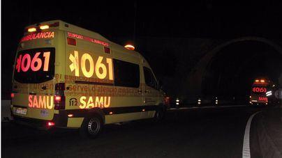 Un motorista fallece en la carretera Andratx- Estellencs tras caer desde un falso túnel