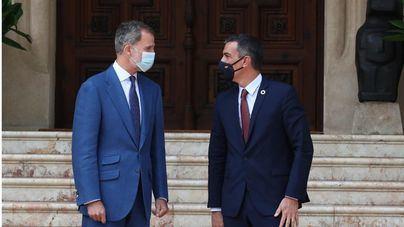 El Rey Felipe VI recibe este martes al presidente del Gobierno en Marivent