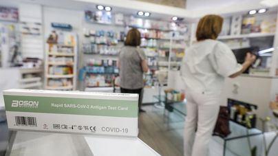 Las farmacias de Baleares vendieron 11.249 test de antígenos la primera semana de venta sin receta