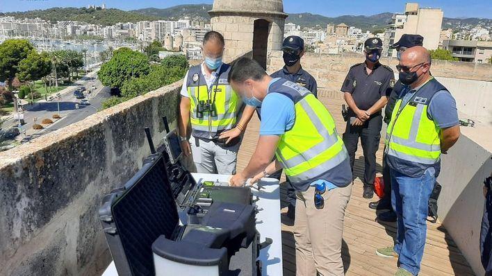 Drones bajo vigilancia policial