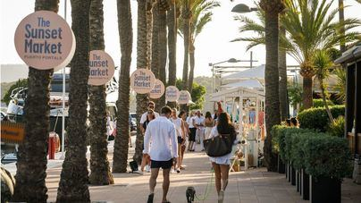 Cultura, arte, solidaridad y gastronomía en Puerto Portals de la mano de 'The Sunset Market'