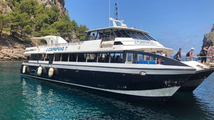 Barcos Azules a Sa Calobra: una experiencia ideal para turistas y mallorquines