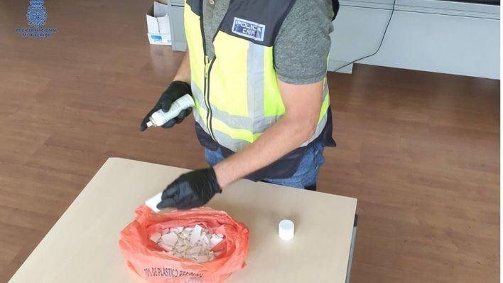 Detienen a un hombre con medio kilo de cocaína en un barco de Barcelona a Palma