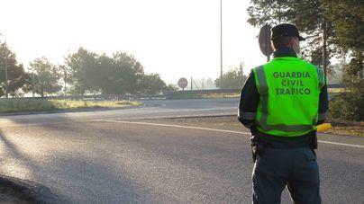 La Guardia Civil de Tráfico acompaña a una opositora para que llegue a tiempo al examen
