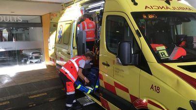 Herido grave un niño de 12 años tras caer desde cinco metros por un terraplén en Andratx